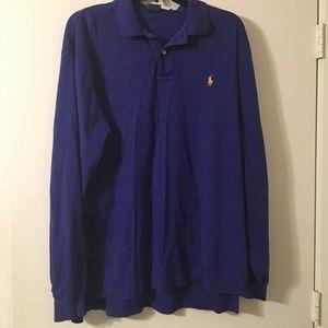 Ralph Lauren Polo. Long sleeved collared shirt